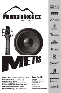 MountainRock vol.7_plakatas
